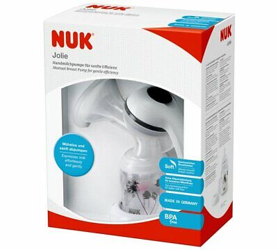 NUK Jolie Manual Breast Pump Top Expressing Action for Better Milk Flow