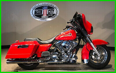 2003 Harley-Davidson Touring Electra Glide® Classic 2003 Harley-Davidson FLHTC Electra Glide Classic Fire Fighter Red
