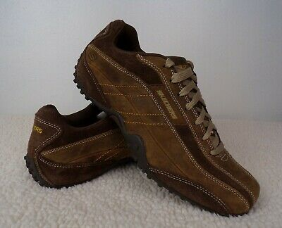 29391c4ce8e5 SKECHERS-MEN S-URBANTRACK-CASUAL-LEATHER-SHOES SNEAKERS-SIZE 9.5 ...