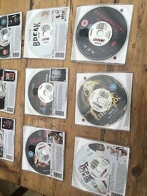 12 X Different HORROR Dvds All Will Be Different Titles