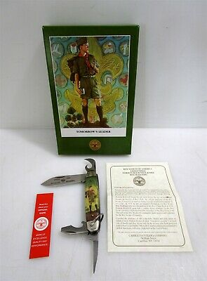 Boy Scout Limited Edition Knife Norman Rockwell Tomorrow's Leader