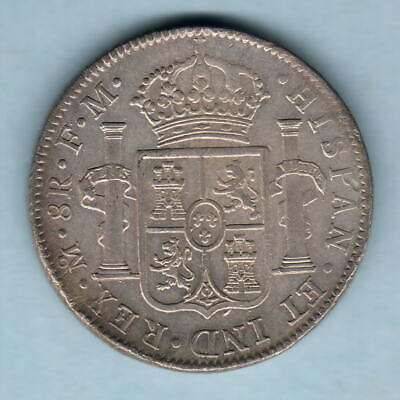 Mexico. 1799-MoFM  8 Reales..  gVF/EF - Part Lustre