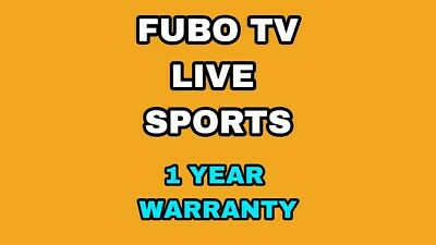 Fubo tv Live sports - 85+ channels - Fast delivery! 12 month warranty!