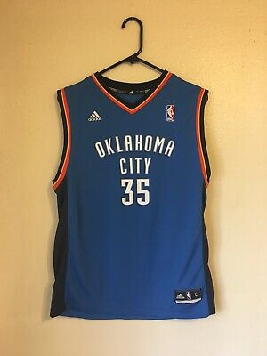 57f9105d555 Adidas Kevin Durant NBA Oklahoma City Thunder Basketball Jersey Youth Large