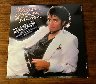 Michael Jackson Thriller Original First Press Lp ~ Still Factory Sealed ~ 1982