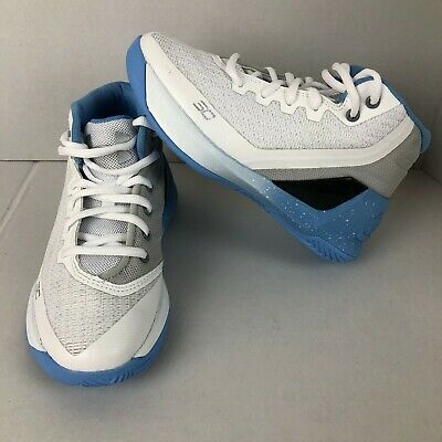 uk availability dcad9 f28e3 UNDER ARMOUR UA Curry 3 Brithday PS Pre School Kids Basketball Youth Size 12