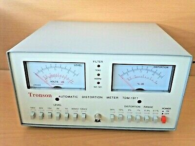 New Automatic Audio/Signal Distortion Meter,Voltmeter,Hi Fi Tuning,Tester