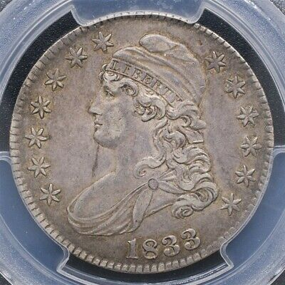 1833 Capped Bust Half Dollar Overton O-113 - PCGS XF45 - CAC