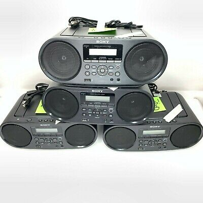 SONY MEGA-BASS PORTABLE STEREO ZSRS60BT - FOR PARTS ONLY - Listing is for 1 QTY