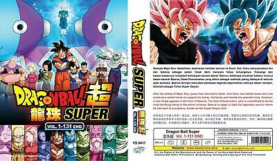 DVD Dragon Ball Super Vol.1-131 End (English Audio Vol 1-52 ) + Free Tracking