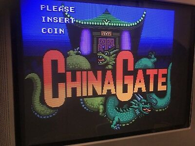 China Gate, Jamma Pcb Original Technos