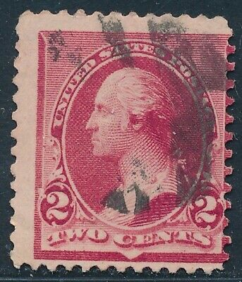 Dr Jim Stamps Us Scott 220 2C Washington Used No Reserve Free Shipping