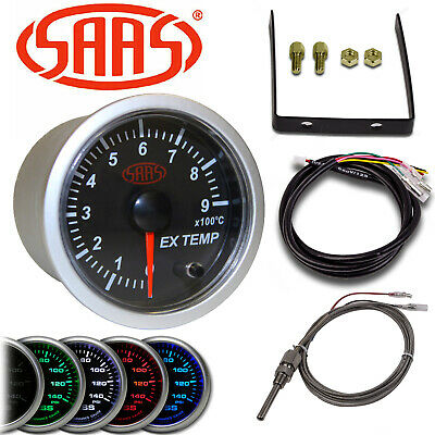 Saas 52Mm Egt Exhaust Gas Temperature Pyro Meter Pyrometer 0-900°C Sg21240 2""