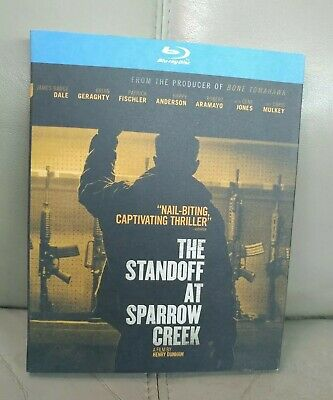 The Standoff at Sparrow Creek (Blu Ray + Slip Cover) FACTORY SEALED