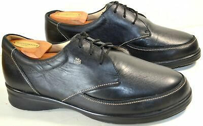 f67fb60c88 (Women's 10) FINN COMFORT Black Leather CASUAL COMFORT OXFORDS Shoes (UK  7.5)
