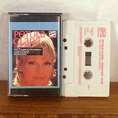 Petula Clark Greatest Hits Ditto Tape Cassette Two rare GERMANY M-