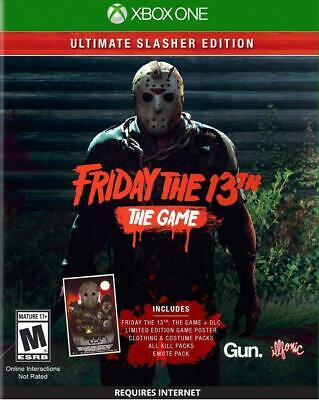 Friday the 13th The Game Ultimate Slasher Xbox One Brand New Sealed