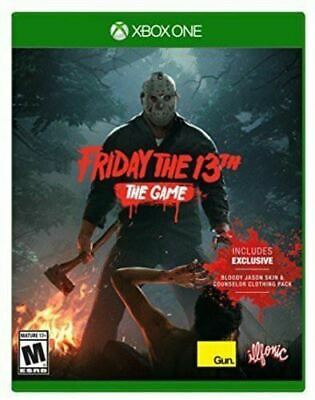 Friday the 13th The Game Xbox One Brand New Sealed
