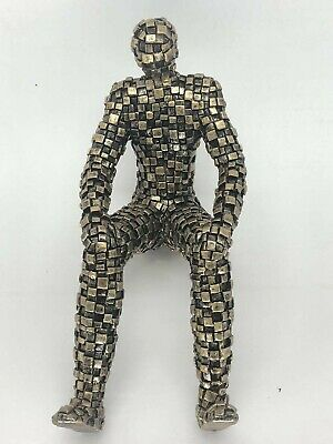 Brand New Male Full Body PolyResin Abstract Egg Head Mannequin Bronze Copper