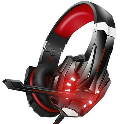 Gaming Headset Stereo Surround Headphone 3.5mm Wired With Mic For PS4 Laptop Xbo