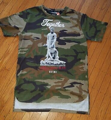 dc98883bb204b RISE AS 1NE RS1NE Camouflage Power T-Shirt