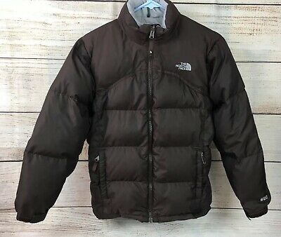 61bd06bcc THE NORTH FACE Kids Girls Small S 600 Down Puffer Jacket black ...