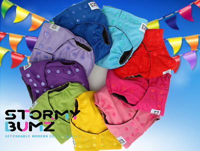 Large Double Zip Waterproof Baby Wet Bag Nappy Bag For Cloth Nappies 30cm x 40cm