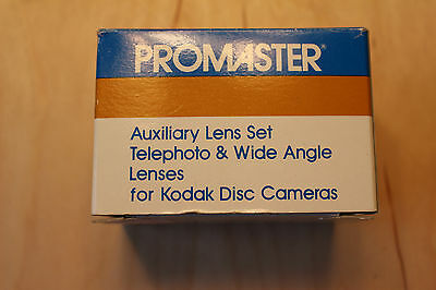 Promaster Auxiliary Lens set for Kodak Disc Cameras