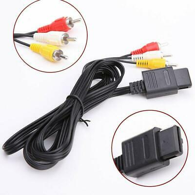 Audio Video AV RCA Cord Cable for Game Cube SNES Game Cube/ Nintendo N64 64
