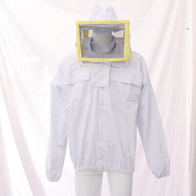 Beekeeping Protective Jacket Suit Bee Insect for Beekeepers Long Sleeve