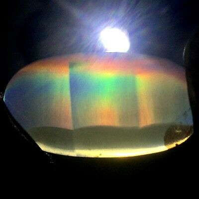 9ct Top Grade Rainbow IRIS AGATE ~Multi-Color Fire~ 1-of-a-kind ~100% Natural~