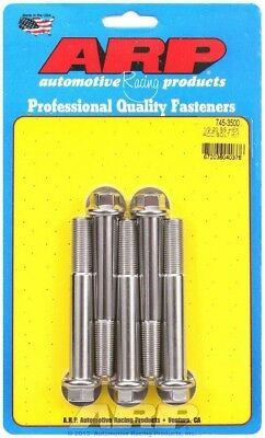 ARP 745-3500 Universal Bolt 1/2-20 in Thread 3.500 in Long Stainless 5 pc
