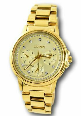 Citizen Eco-Drive Silhouette Women's FD2042-51P Gold Stainless Watch