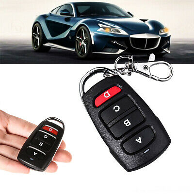 Universal Cloning Remote Control Key Fob for Car Garage Door Gate 433MHz New