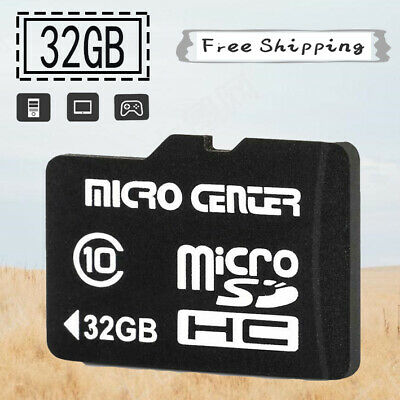 Micro SD HC Card Memory Card 32GB TF Flash  Class 10 SDHC SD Adapter High Speed