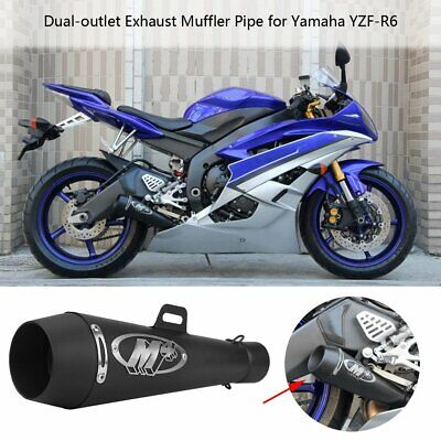 M4 Motorcycle Exhaust Muffler Pipe with DB Killer Slip On Exhaust Pipe 51 mm New