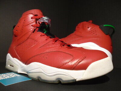 san francisco c130f 88364 Nike Air Jordan Vi 6 Retro Spizike Red Green Black White Infrared 694091-625  12