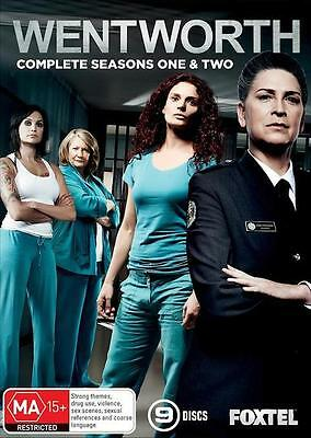 Wentworth : Season 1-2 : NEW DVD Box Set