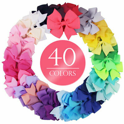 40pcs Kids Baby Girls Children Toddler Flowers Hair Clip Bow Hairpin Accessories