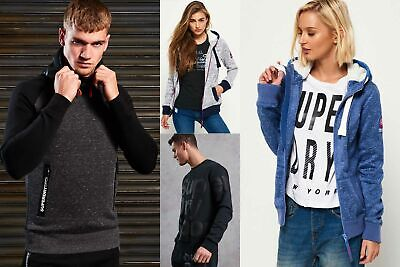 New Superdry Hoodies3 Selection for Men and Women - Various Styles & Colours 240