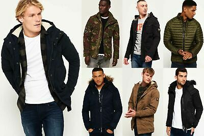 New Mens Superdry Jackets4 Selection - Various Styles & Colours 240119