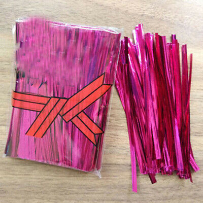 Bag Metallic Ties Wire+PET 100pcs/bag For Candy Lollipop Chic Hot High Quality