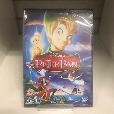 Peter Pan DVD Disney - New and Sealed Fast and Free Delivery