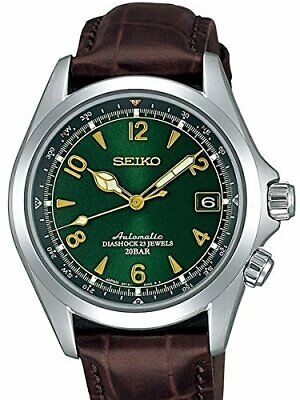 SEIKO SARB017 Leather MECHANICAL Alpinist Automatic Mens Watch 001Ship FR*1