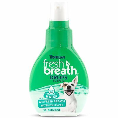 Tropiclean Fresh Breath Drops for Pets Oral Dental