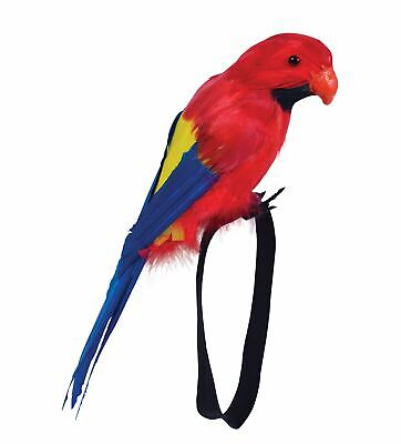 Feather Parrot Pirate Shoulder Wrist Fancy Dress Costume Accessory