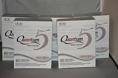 Quantum 5 Extra Volume Acid Perm (5 Pack) No Dryer Heat Required - Color Safe
