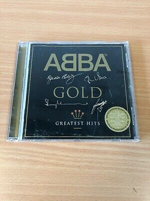 ABBA Gold Greatest Hits Signed / Engraved CD