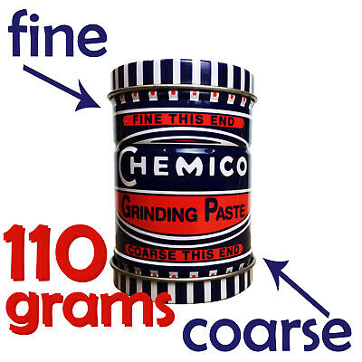 Chemico Valve Seat Grinding Cutting Paste - Fine & Course 110g