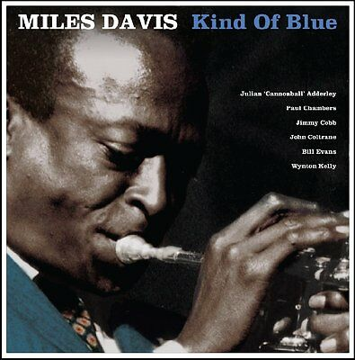 MILES DAVIS KIND OF BLUE 180g LP BLUE Vinyl Record